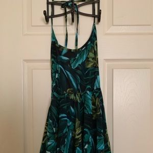 American Apparel Tropical Halter Dress